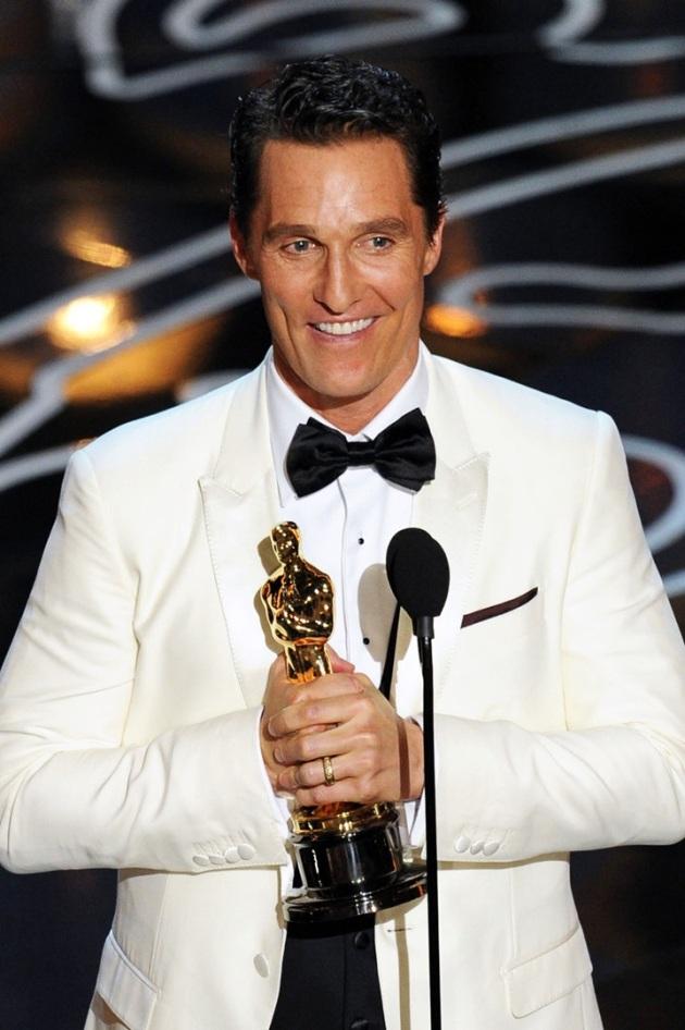 Matthew McConaughey - Vencedor do Oscar 2014 de Melhor Ator